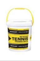 DUNLOP Mini Tennis red 30 Stück im Eimer